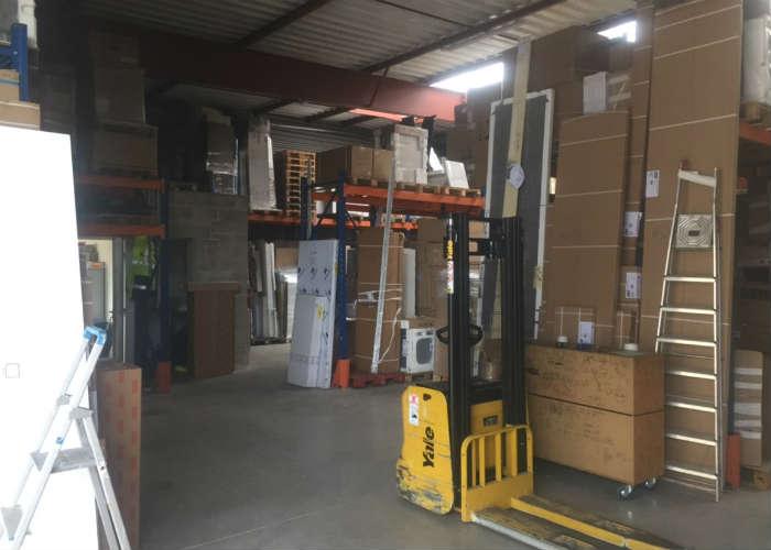 Stockage en entrepôt demenagement
