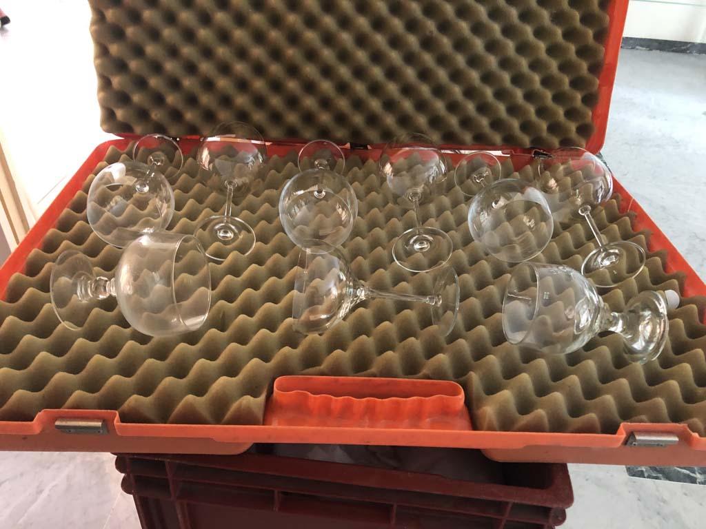 valise de protection de verres Lejeune